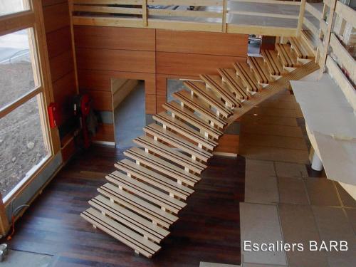escalier batibois