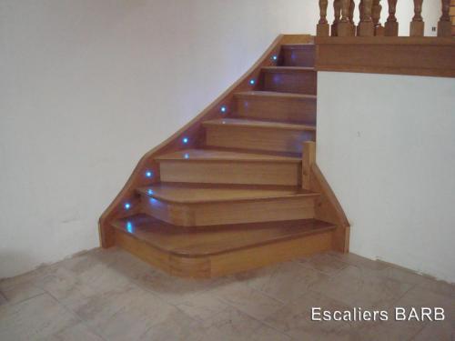 escalier chêne depart 45