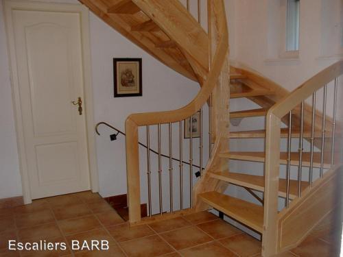 escalier frene olivier