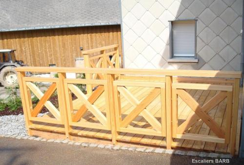 garde corp terrasse