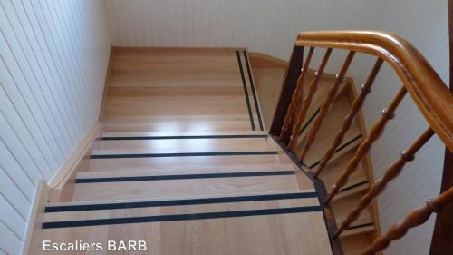 revetement ancien escalier