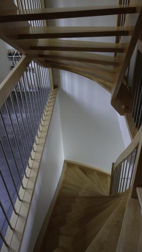 escalier boishetre inox